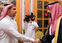 Vua, Thái tử Saudi Arabia bắt tay các con nhà báo Khashoggi