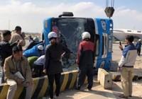 Tài xế xe khách ngủ gật, 6 người thương vong
