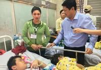 Phó chủ tịch UBND TP thăm học sinh bị thương vụ sập giàn giáo