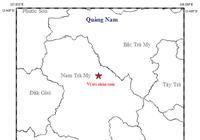 Xuất hiện động đất 3,9 độ Richter tại Quảng Nam