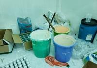 Phẩm màu trộn với hàng rẻ ra thuốc bảo vệ thực vật nổi tiếng