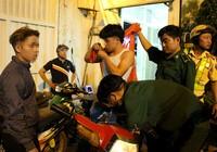 CSGT TP.HCM tạm giữ hơn 100 xe của những người đi 'bão'
