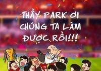 Hàng loạt ảnh chế vui nhộn khi Việt Nam lên ngôi vô địch