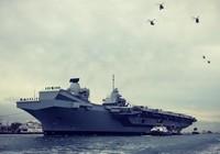 Anh đưa tàu chiến khủng tới Mỹ nhưng sợ Nga 'phá đám'