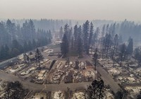 Thị trấn ở California hoang tàn sau thảm họa cháy rừng