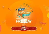 Online Friday 2018: Nhiều mặt hàng giá 0 đồng