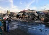 Thông tin mới vụ xe bồn lao vào nhà dân bốc cháy, 6 người chết