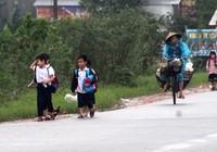 Hàng trăm học sinh Thừa Thiên-Huế nghỉ học vì ngập cục bộ