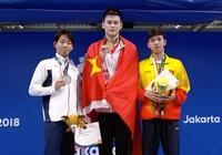 Kình ngư Nguyễn Huy Hoàng xuất thần đoạt HCĐ cự ly 800 m tự do