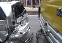Xe bồn nghi mất thắng gây tai nạn liên hoàn trên quốc lộ