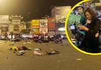 Nữ tài xế vướng giày cao gót gây ra tai nạn ở Hàng Xanh?