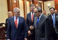 Bí thư Nguyễn Thiện Nhân tiếp Bộ trưởng Quốc phòng Mỹ