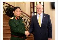 Đại tướng Ngô Xuân Lịch tiếp Bộ trưởng Quốc phòng Mỹ