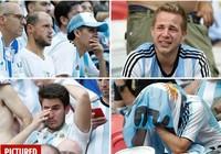 Fan khóc hết nước mắt vì Argentina và Messi chia tay World Cup