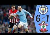 Man City - Southampton (6-1): Chơi 'tennis', lấy ngôi đầu