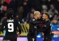 PSG thắng hủy diệt, Liverpool vượt mặt Napoli giờ chót