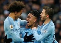 Thắng thuyết phục Everton, Man. City tái chiếm ngôi đầu bảng