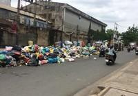 Dân kêu trời vì bãi rác nằm ngay giữa đường