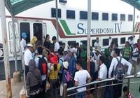 Phú Quốc thông tàu, hàng ngàn hành khách được về nhà