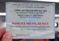 Dùng giấy tờ giả để làm giấy đăng ký xe, xử phạt thế nào?