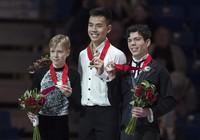 Chàng trai gốc Việt đăng quang tại giải trượt băng Canada