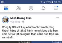 Yêu cầu chở đúng điểm đến, khách hàng bị tài xế Go -Viet đánh