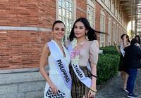 Ở Miss Intercontinental, Ngân Anh đẹp tự nhiên hay photoshop?