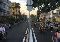 Thông xe nhánh cuối cầu vượt ngã 7 Nguyễn Thái Sơn