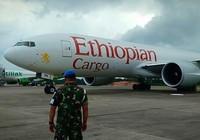 Indonesia tung tiêm kích chặn, buộc máy bay Ethiopia hạ cánh