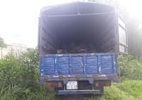 Bắt giữ xe tải đổ trộm chất thải ở Bình Chánh