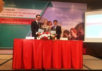 Lần đầu tiên học sinh Việt Nam được New Zealand cấp học bổng