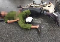 Tông xe, 1 nạn nhân mặc quân phục công an tử vong
