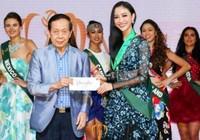 Hà Thu giành huy chương đồng tại Hoa hậu Trái đất