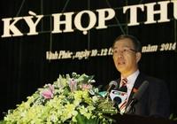 Cách chức Bí thư Tỉnh ủy Vĩnh Phúc nhiệm kỳ 2010-2015