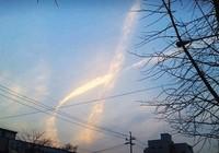 Đám mây huyền bí xuất hiện khi phà Sewol 'trở về'