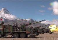 Xe tăng, trực thăng Trung Quốc tập trận răn đe Ấn Độ