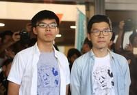Thủ lĩnh sinh viên Hong Kong được thả tự do