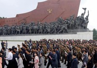 Triều Tiên diễn tập sơ tán dân trong bóng tối