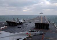Không quân Trung Quốc tập trận sát Triều Tiên