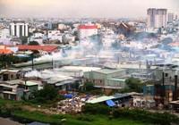 Xử lý cơ sở sản xuất ô nhiễm nhưng không chịu di dời