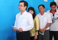 Bí thư Nguyễn Thanh Nghị cùng hơn 1 triệu cử tri Kiên Giang đi bầu cử