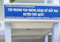 Nguyên kế toán Văn phòng đăng ký đất Phú Quốc bị bắt