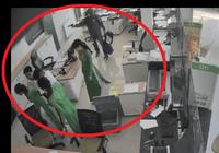 Nhân dạng chi tiết tên cướp ngân hàng ở Trà Vinh