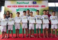 8 tài năng nhí đậu Học viện bóng đá NutiFood