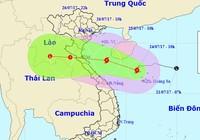 Đêm mai bão số 4 đổ bộ vào miền Trung