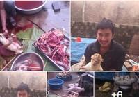 Giết thịt hàng chục con khỉ rồi khoe chiến tích trên Facebook