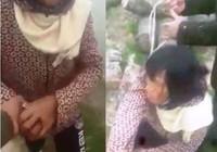 Xôn xao clip bắt giữ phụ nữ giả ngây để bắt cóc trẻ em