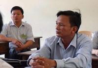 Cán bộ xã 52 tuổi đi thi tốt nghiệp THPT Quốc gia