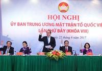 Ông Trần Thanh Mẫn thành tân chủ tịch Ủy ban MTTQ VN