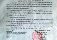 Hà Nội: Huyện Hoài Đức hoãn cưỡng chế thu hồi đất